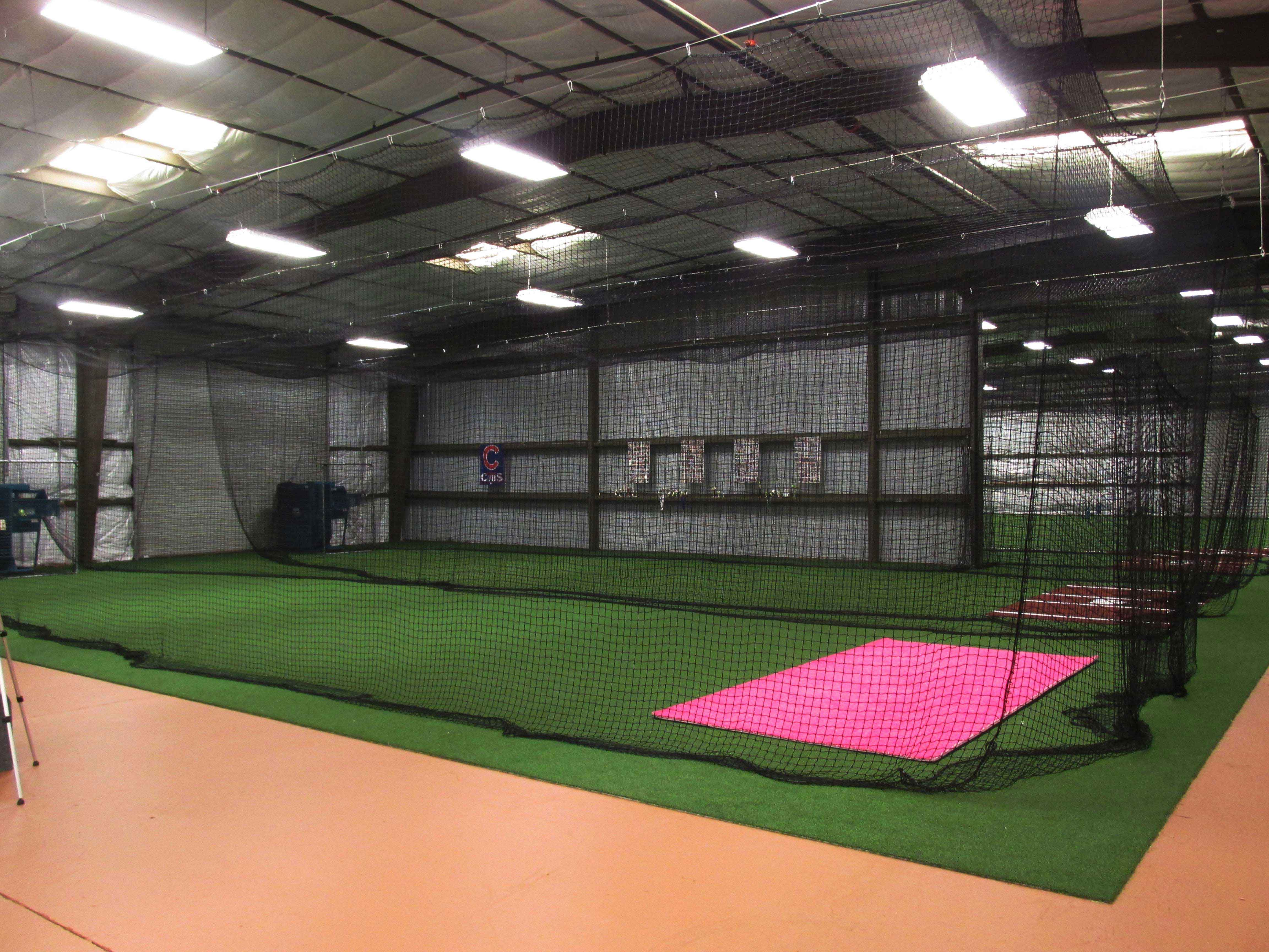 Commercial Remodeling Services - Image of a batting cage