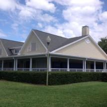 Commercial Building Lawn
