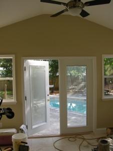 Window, door, and baseboard repair or replacement